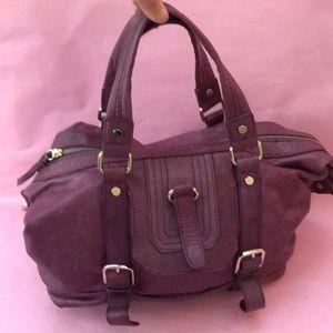 Purple The SAK pebbled leather bag